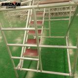 Andamio del marco de Shizhan/andamio de Ringlock/escaleras generales de la madera contrachapada del andamio