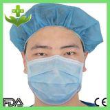 Nicht gesponnene 3 Falte-Gesichtsmaske Earloop