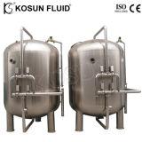 Filter van de Koolstof van het roestvrij staal de Industriële Geactiveerde