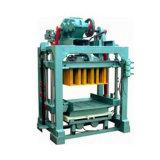 Qt4-15 automático de la media de la máquina para fabricar ladrillos de hormigón para la venta
