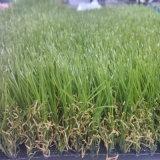 decoração artificial ajardinando do jardim do gramado de 25mm