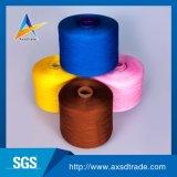 100% poliéster hilado tejido de hilo de coser Hilos de coser ropa de uso