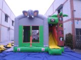 2018 Saltar Moonwalk inflable Gorila de elefante con la diapositiva (T3-095)