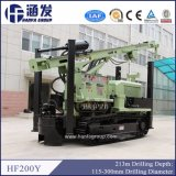 Tipo de trator de esteiras HF200y Máquina de perfuração Hidráulico