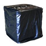 Голубая сверхмощная крышка паллета брезента PVC с застежкой -молнией отверстий