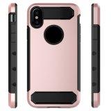Крышка случая сверхмощного телефона протектора защитная задняя на iPhone x Apple
