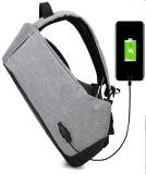 Diebstahlsicherer Schulter-Beutel-Vielzweckcomputer-Rucksack USB Laptopbag