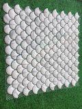 Плитки мозаики полного тела стеклянные кристаллический