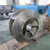 Cera perdida del acero inoxidable que echa el impulsor grande de la bomba de la talla pieza grande del bastidor