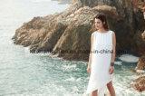 Neue Arrivial Sommer-Sleeveless Frauen-weißes Kleid
