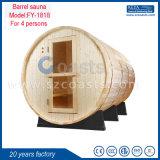 Sauna ao ar livre do tambor do quarto da sauna do cedro vermelho/pinho de Finlandia