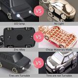 De leuke Zeer belangrijke Houder van de Luxe van de Decoratie van de Auto van de Gift van Keychain van het Ontwerp Promotie