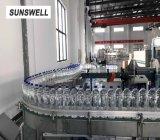 Машина автоматической воды заполняя разливая по бутылкам