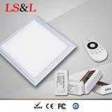 Cambio de temperatura del LED CCT 2800-6500K y amortiguación de Panellight impermeable