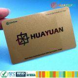 MIFARE標準的なEV1 1K NFCの金属ビジネス会員証