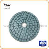 Haute performance de marbre mouillé 4'' des pierres de granite Tampon de polissage de diamants