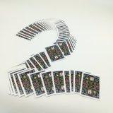 Kundenspezifische 8-BithauptPixelated Spielkarten mit goldenem Aufkleber Yh321