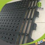 Vloer 600*600mm van het Gietijzer in het Werpen de Vlotte Oppervlakte die van het Krat wordt gebruikt