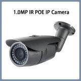 cámara impermeable del IP de la seguridad del CCTV de la red del punto negro de 1.0MP Poe IR (WH2)