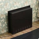Chaufferette électrique en acier à haut carbone de cheminée de meubles d'hôtel (A-803)