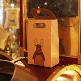 El papel de estraza Bolsas de regalos, Feliz Navidad bolsas de papel Kraft, boda, fiesta, Baby Shower, favor, el bicarbonato de embalaje, favor de la bolsa de papel