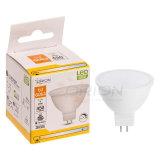 MR16 Bombilla de ahorro de energía de luz LED GU10 5W Foco LED