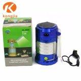 Diseño ligero y portátil plegable LED fácil LED Linterna de camping al aire libre para practicar senderismo
