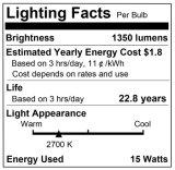 China Productos Inicio Iluminación E26 G30 15W Bombilla LED Global