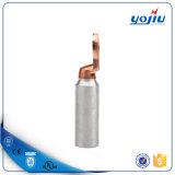 電気銅アルミニウムバイメタルケーブルのラグナット27年の製造業者Dtl-2