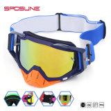 Le meilleur butoir de nez d'équitation de moteur en verre de qualité protègent des lunettes de moto