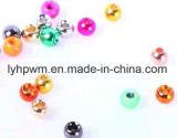 Colore metallico, mosca del tungsteno di colore del Rainbow che lega i branelli