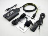 Kits de voiture Bluetooth Stéréo Aux dans l'adaptateur chargeur USB pour 1995-2007 Volvo