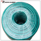 Boyau de jardin flexible de l'eau de PVC de boyau tressé de fibre de PVC