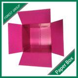 Contenitore di carta di cartone di lusso quadrato all'ingrosso