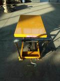 a mão manual móvel da plataforma 500kgs hidráulica Scissor a tabela de elevador