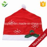 Mantel rojo el 178cm el x 132cm del copo de nieve de la Navidad grande