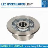 La iluminación Intiground Impermeable IP68 6W LED Lámpara de submarino