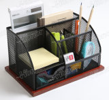 신제품 금속 메시 문구용품 조직자 사무실 책상 부속품
