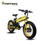 48V 500W Bafangモーター山の電気バイクの脂肪質のタイヤEの自転車