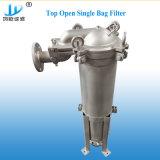 植物油のための食品等級のステンレス鋼のバッグフィルタ