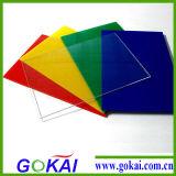 Feuille transparente de plexiglass de qualité