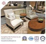 Klassische Hotel-Möbel mit hölzernem Vorhalle-Lehnsessel (YB-D-16)