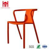 Отдых стула Китая оптовый пластичный обедая стул с рукояткой