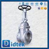 Didtek 12pulgadas volante los extremos de la brida Válvula de compuerta de Wcb