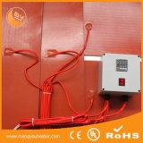 Faixa de aquecimento do cilindro profissional do calefator de placa do silicone