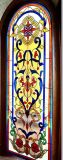 Panneau en verre souillé de guichet de modèle de conception de Tiffany