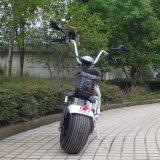 Самокат Harley верхнего качества фабрики белый электрический с двойным местом