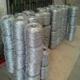 Arame farpado revestido galvanizada/PVC