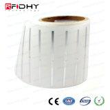 受動860-960MHz RFIDのラベルUHFライブラリ札