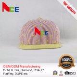 Homem de alta qualidade Hat digite Personalizar Snapback Chapéus com logotipo Bordado Grande